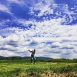 Golf grass amp sky  golf instagolf instagolfer golfcourse golfinghellip