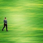 Rory all alone at Augusta. #golf #instagolf #instagolfer #rorymcillroy #green…