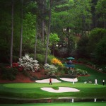 The famous Par 3 No. 12 at Augusta National. #golf…