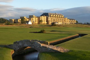 Tee Off at St. Andrews' Old Course