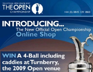Open Championship Online Shopping