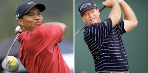 Golf Swings: Tiger vs. Tom