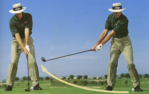 Golf Tip – Flat Left Wrist at Takeaway