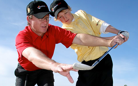 golfing lesson