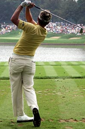 Luke Donald Swing