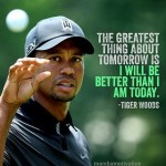 Love this quote by Tiger!  golf instagolf instagolfer tigerwoodshellip