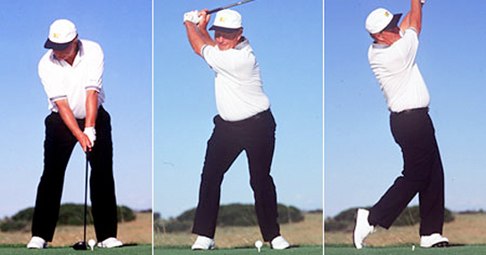 Out Of Position Right Knee In The Golf Swing