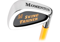 Momentus golf training aid