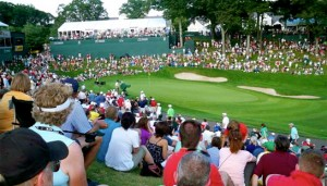 Observing the Pros at The Travelers Championship