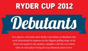 Ryder Cup Rookie Debutants