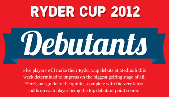 ryder cup debutants Ryder Cup Rookie Debutants