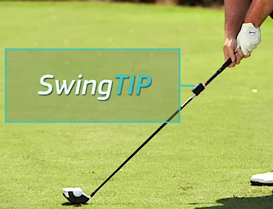 swingtip on club Review of SwingTIP   Golf Swing Analyzer