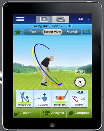 swingtip Review of SwingTIP   Golf Swing Analyzer