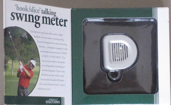 "Hook/Slice""Talking Swing Meter"