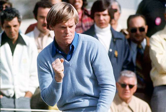 golfer Johnny Miller