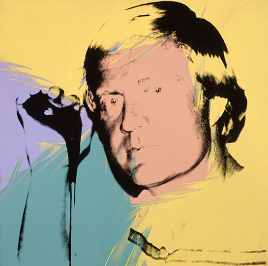 Jack Nicklaus painting by Andy Warhol