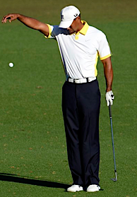 Tiger on 15 Tiger Controversy at the Masters