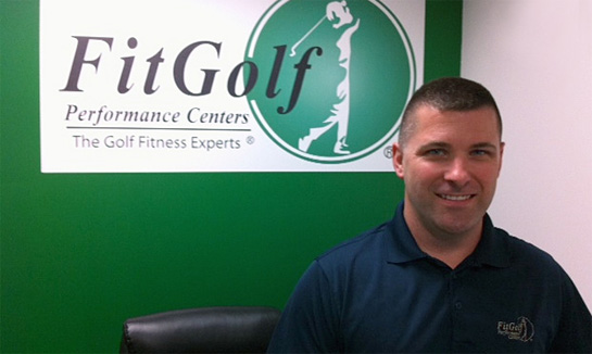 David DuPriest of FitGolf