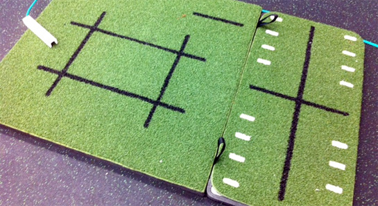 Dynamic Golf Balance System Mat