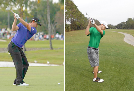 spine angle The Myth of The Turn in the Golf Swing