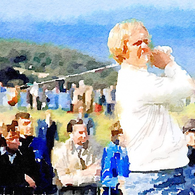 Jack back in the day. golf golfing instagolf jacknicklaus goldenbear…