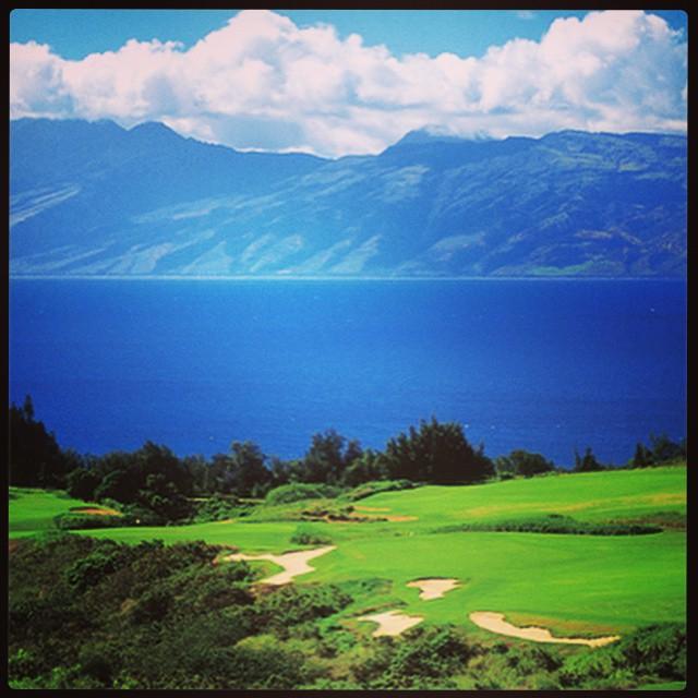 Kapalua GC. golf golfing instagolf kapalua hawaii paradise ⛳️