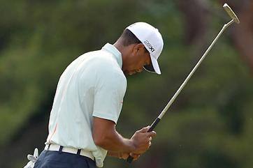 Tiger Woods Fades at PGA