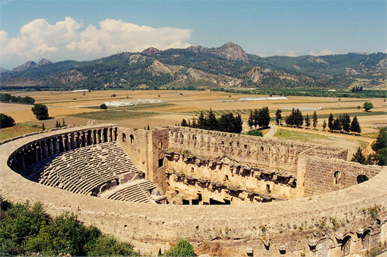 aspendos ampitheater Golf Holidays in Turkey