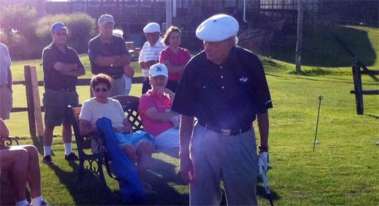 Bob Toski golf clinic