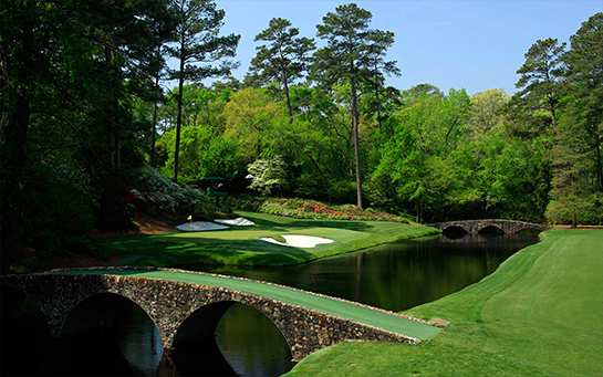 amen corner My First Trip to Augusta National GC