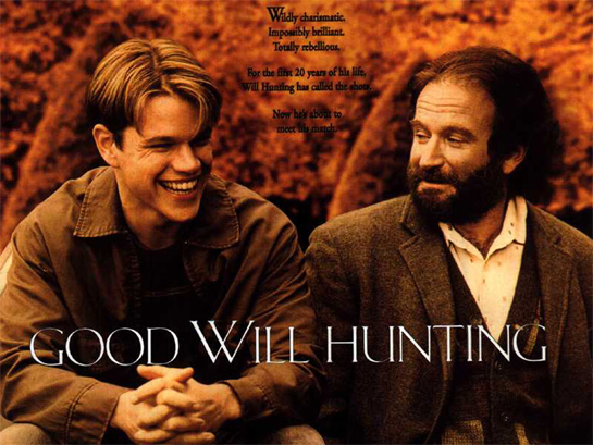 "good will hunting ""Good Will Hunting"" for a New Driver"