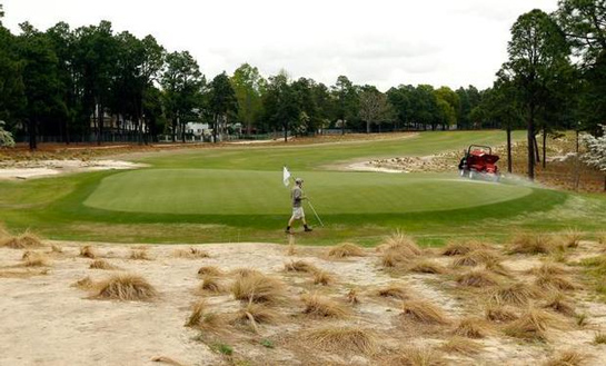 pinehurst2 wasteareas1 Waste Area or Bunker at Pinehurst No. 2?