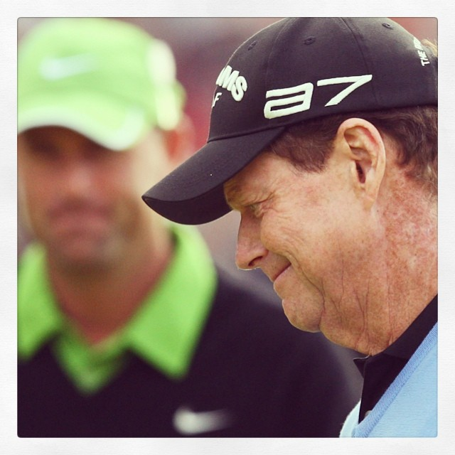 Just kills me to see highlights of Watson's loss at 2009 Open Championship.  #opencampionship #tomwatson #britishopen
