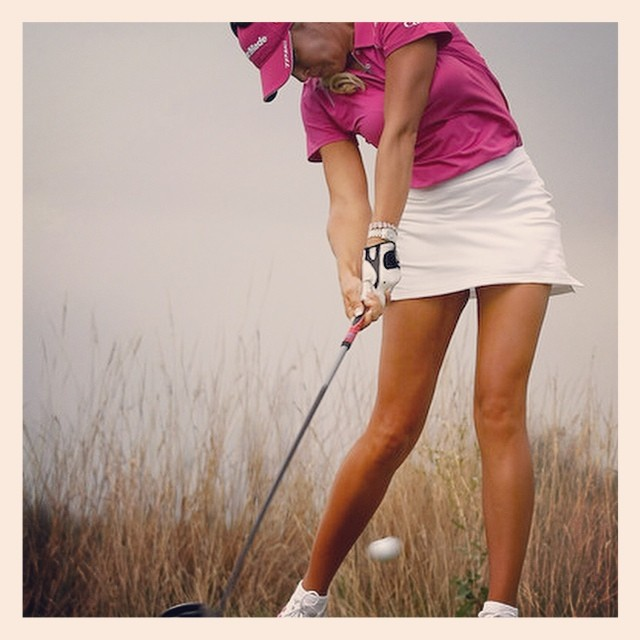 Perfect golf impact position by Natalie Gulbis. #golf #nataliegulbis #lpga
