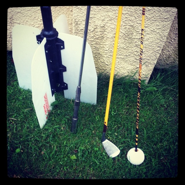 A few of my favorite golf training aids. #golf #golftrainingaids #swingfan #swingrite #speedwhoosh #momentus ??☀️⛳️⛳️