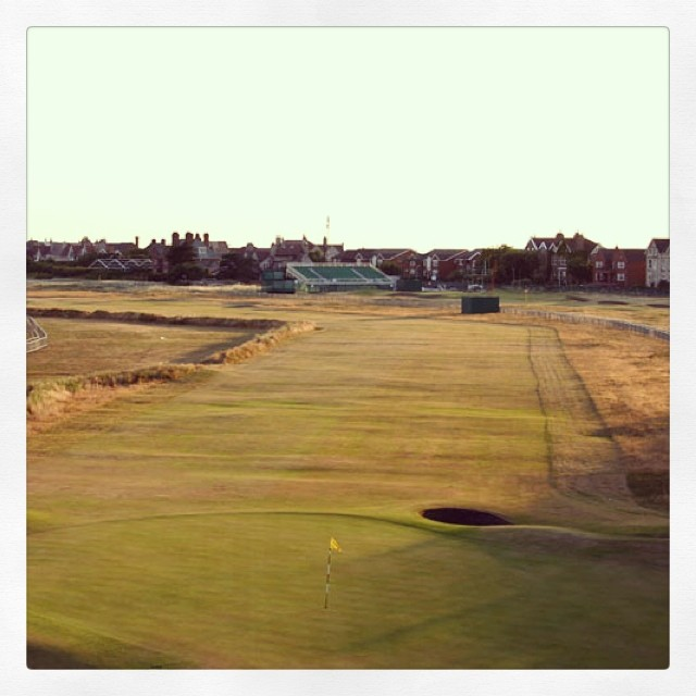 Calm before the storm. #britishopen #theopen #theopen2014 #royalliverpool #beautiful