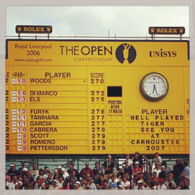 Will Tiger be on the board on the final day  @ the Open Championship? #tiger #tigerwoods #britishopen #theopen