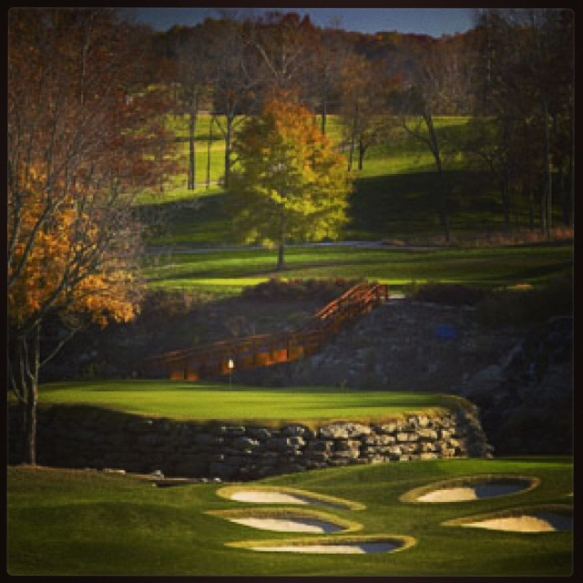 No. 13 at Valhalla. Good or goofy? #golf #valhalla #pga #pgachampionship