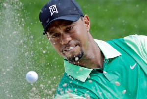 Woods Stumbles in Return to Action