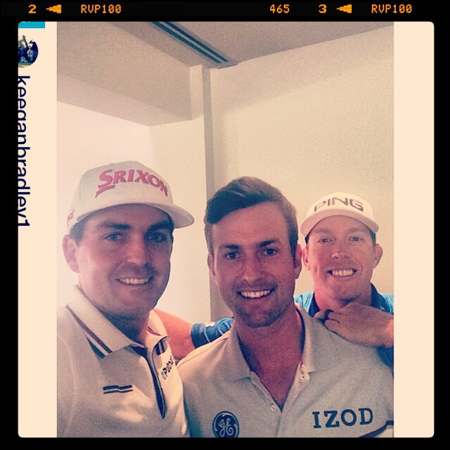Repost from @golfchannel via @igrepost_app, #Repost from @keeganbradley1: Captains pick selfie #redeemteam