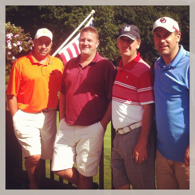 The 4 Muskateers! 2nd Annual at Crumpin Fox. #golf #crumpinfox