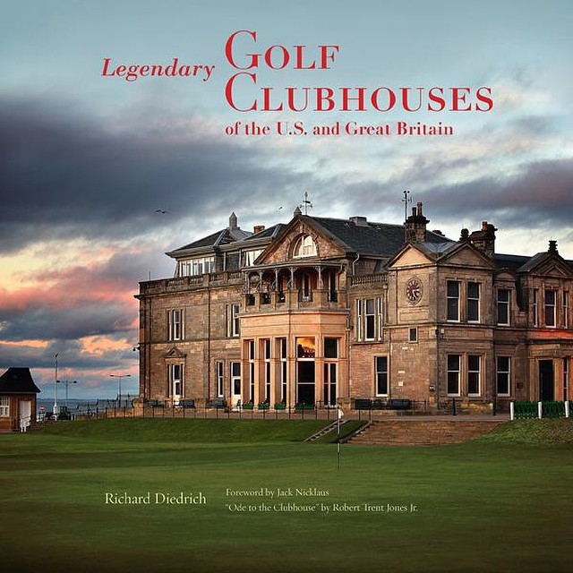 Cool book - Legendary Golf Clubhouses. Beautiful. #golf #golfclubhouses