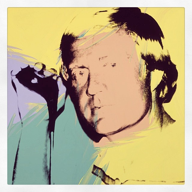 Jack Nicklaus by Andy Warhol. #golf #jacknicklaus #goldenbear #andywarhol  #art