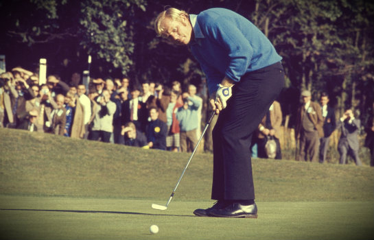 jack nicklaus putting stroke