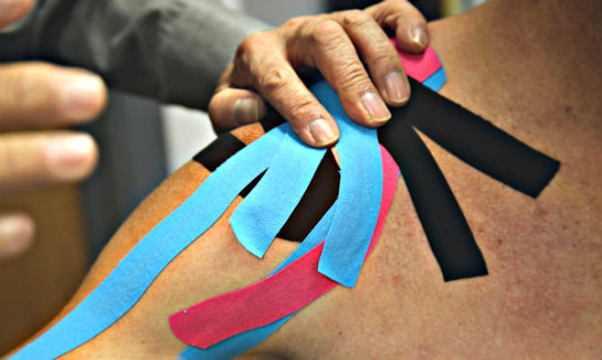 kinesio tape shoulder How Kinesiology Taping is Helping Golfers