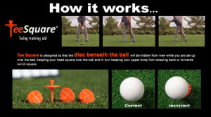 The TeeSquare: Improve Balance & Stability in Your Golf Swing