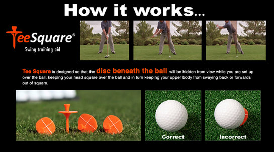 tee square The TeeSquare: Improve Balance & Stability in Your Golf Swing