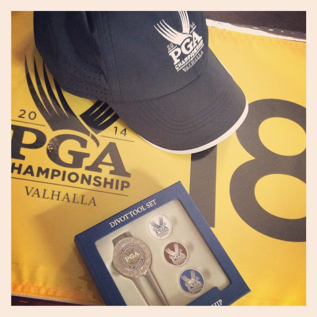 Forgot I bought some gear at the PGA Champ.  #golf #pgachamp #valhalla