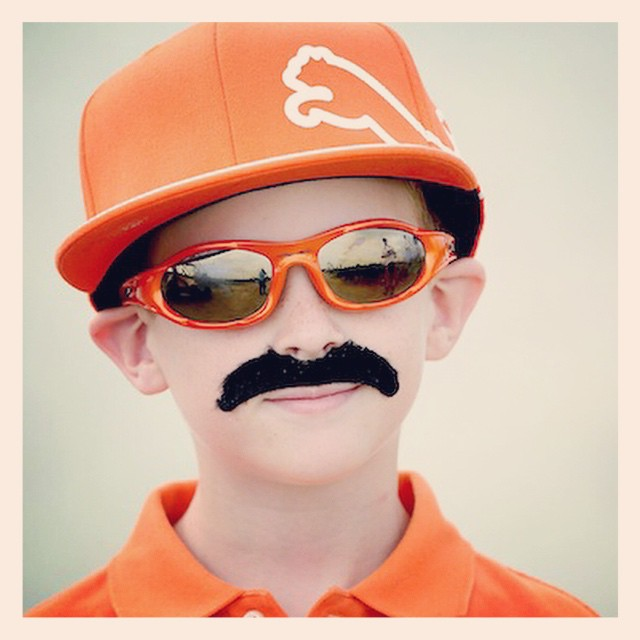 Halloween costume idea. I think Rickie would approve! #golf #rickiefowler #puma #halloween #orange ?⛳️???