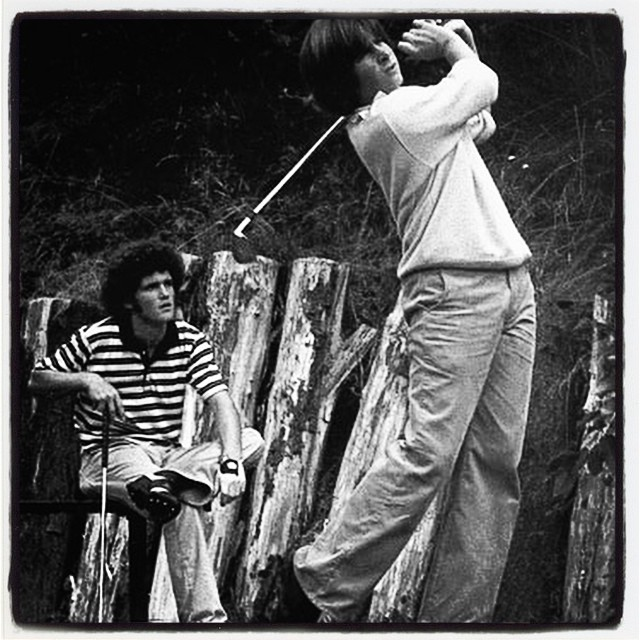A VERY young Fred Couples. #golf #fredcouples #freddie #sweetswing